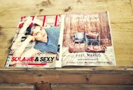 PAUL MARIUS dans le magazine ELLE