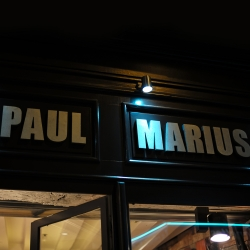 PAUL MARIUS s'installe à Paris