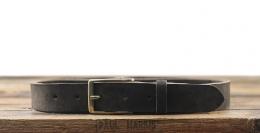 LaCeinture Magnifique Nubuck - 30mm - Dark Brown