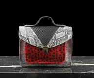 Mademoiselle George Chimera - Silver / Black / Red