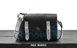 LeMini Indispensable Leopard - Pool Blue / Black