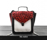 Mistinguette Leopard - Black / Red