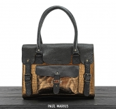 LeRive Gauche M Alligator - Black / Copper