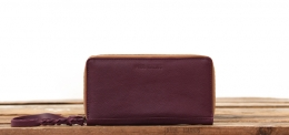 LePortefeuille Charlotte - Plum