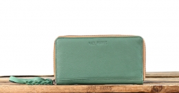 LePortefeuille Charlotte - Almond Green