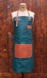 Apron Leather - Cobalt