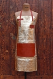Apron Leather - Gold