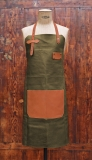 Apron Leather - Khaki