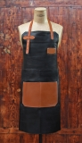 Apron Leather - Black