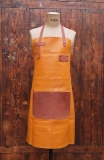 Apron Leather - Saffron