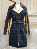 LeTrench Tartan Vert - Taille 38
