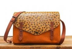 L'Indispensable Leopard - Saffron / Silver