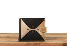 LePortefeuille Louise - Black / Gold