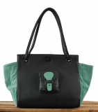 Madame. M - Black / Almond Green