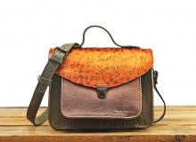 Mademoiselle George Leopard - Orange / Copper
