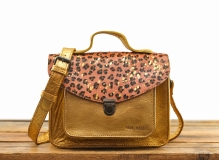 Mademoiselle George Leopard - Pink / Gold
