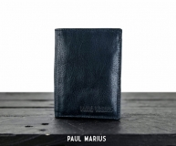 LePortefeuille Marius - Oily Ink Blue