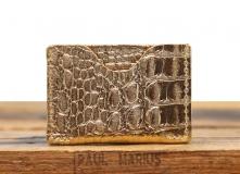 LePorte-cartes GABIN Caiman - Gold