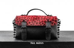 L'Artisane Leopard - Black / Rouge