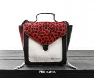 Mistinguette Leopard - Black / Red