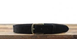 LaCeinture Magnifique Nubuck - 30mm - Noir