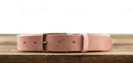 LaCeinture Magnifique Nubuck - 30mm - Rose Poudré