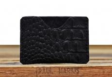 LePorte-cartes GABIN Caiman - Black