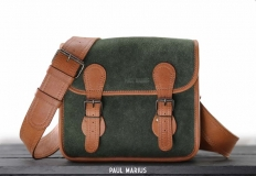 LaSacoche S Pampa - Light Brown / Forest Green
