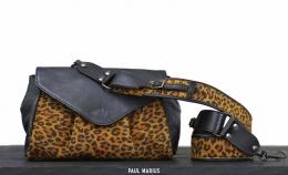 Suzon M Leopard Black