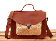 Mademoiselle George - Light Brown / Gold