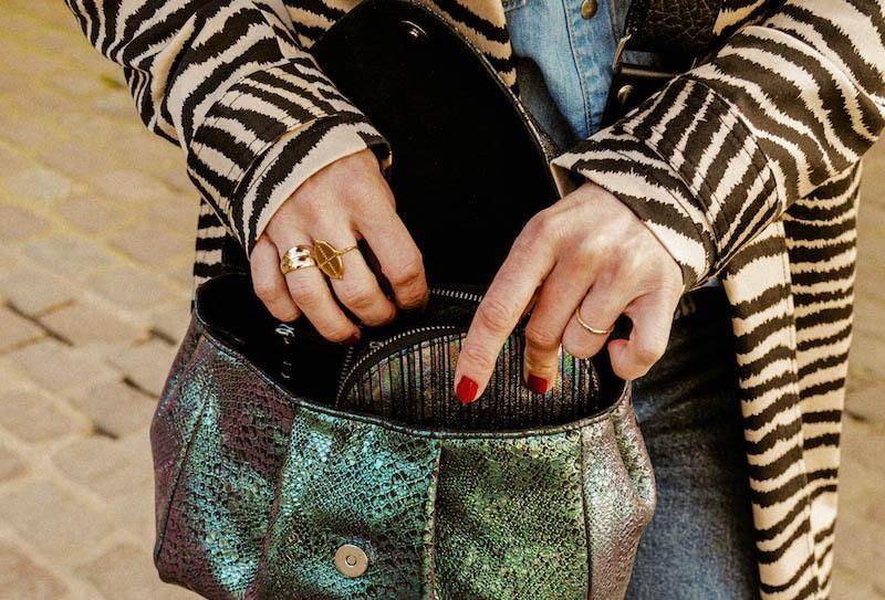 Suzon S - Sac à main cuir Femme - Paul Marius