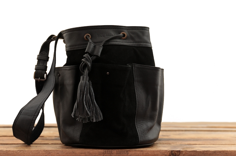 Fleur - Noir - Les sacs bandoulière - Paulmarius