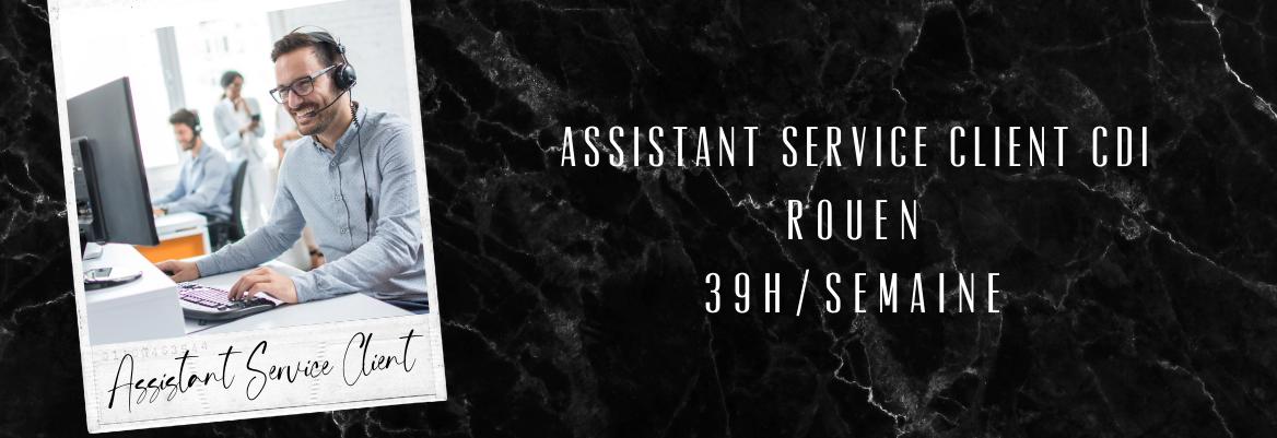Assistant(e) ADV CDI Rouen 39h