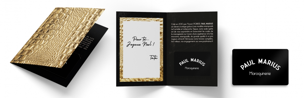 PAUL MARIUS Gift Card: Offer a bag