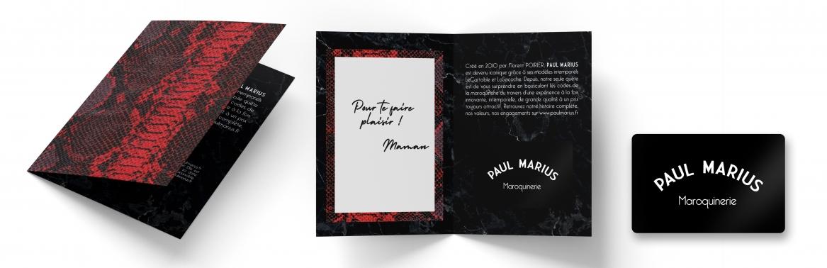 Carte Cadeau Paul Marius : Offrir un sac