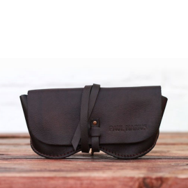 The Glasses Case - Dark Brown