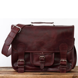 LeCartable L - Middle Brown