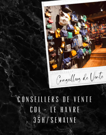 Conseillers de Vente CDI - Le Havre