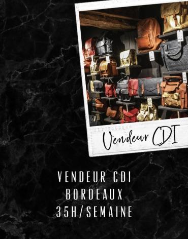 Vendeur CDI - Bordeaux