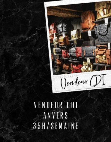 Vendeur CDI - Anvers