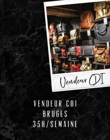 Vendeur CDI - Bruges