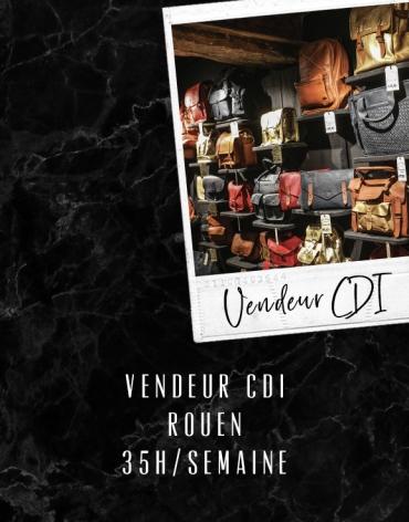 Vendeur CDI - Rouen
