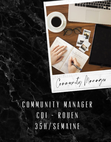 Community Manager CDI - Rouen