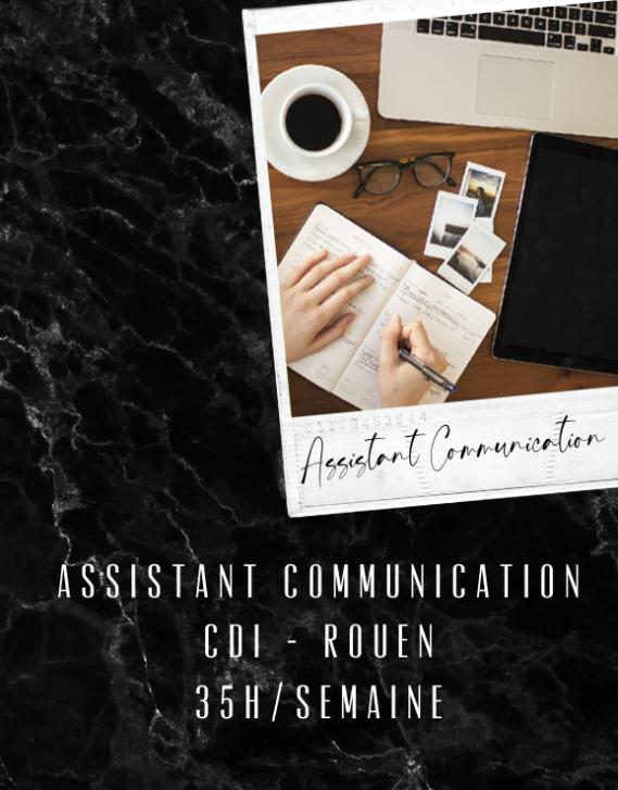 Assistant communication CDI - Rouen
