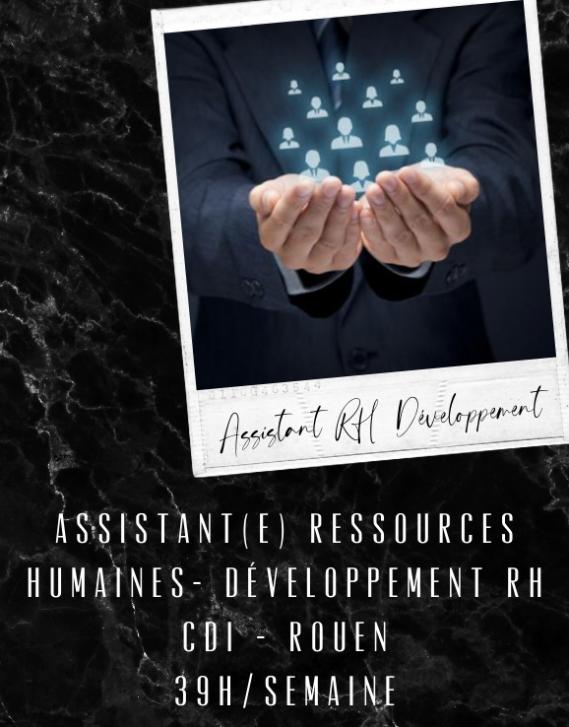 Assistant(e) RH - Développement RH 39H