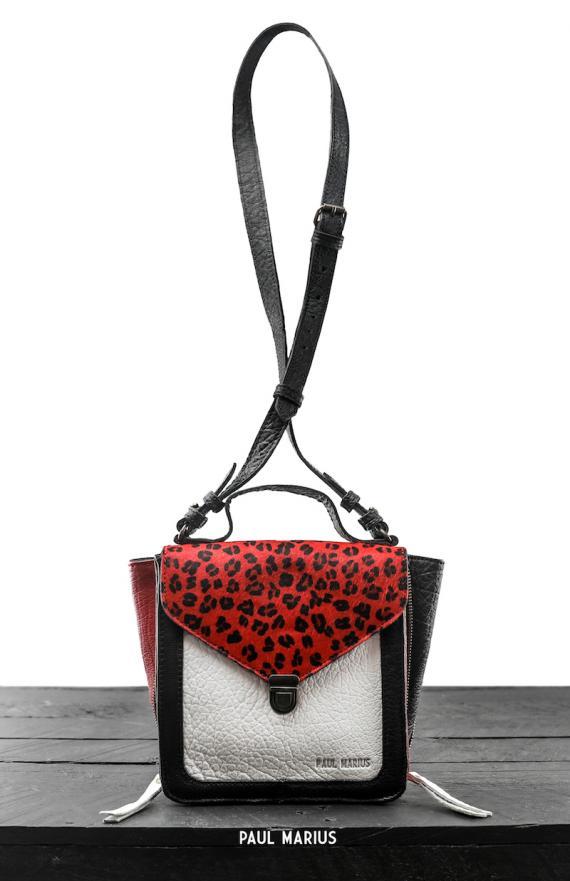 Mistinguette Léopard - Noir / Rouge