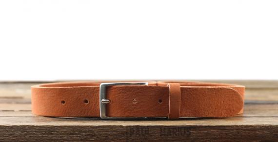 LaCeinture Magnifique Nubuck - 30mm - Orange