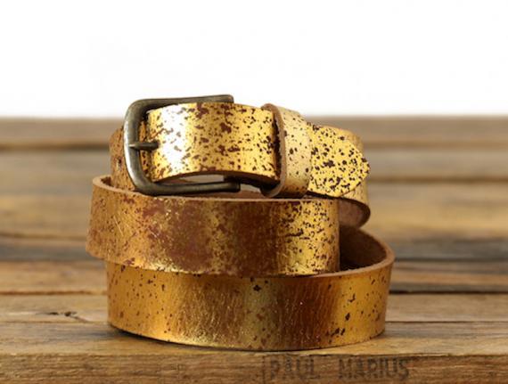 LaCeinture à Boucle - 115 cm - Sparkling Gold