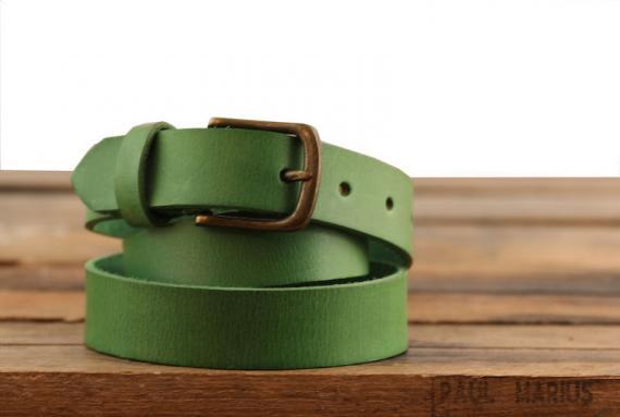 LaCeinture à Boucle - 115 cm - Vert Jungle