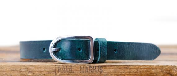 LaCeinture Magnifique - 25mm - Bleu Canard